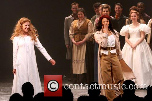 Les Miserables, Caissie Levy and Nikki M. James 10