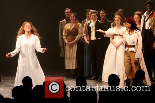 Les Miserables, Caissie Levy, Nikki M. James, Imperial Theatre,, Imperial Theatre
