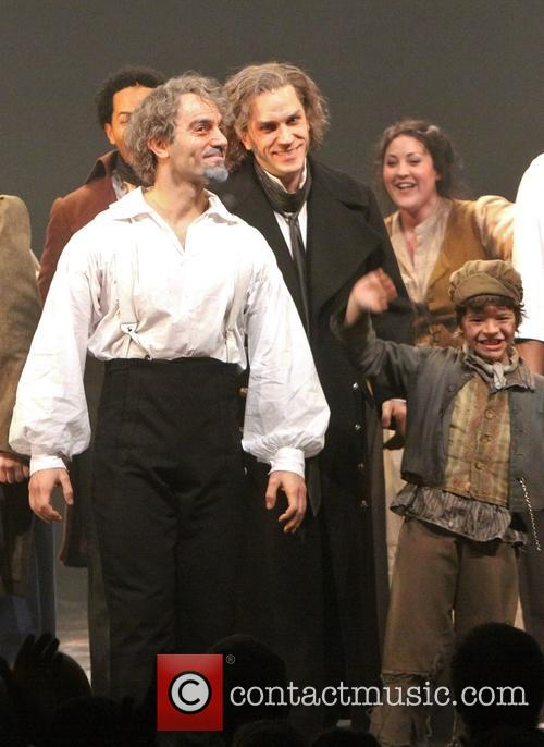 Les Miserables, Ramin Karimloo and Will Swenson 5