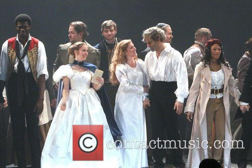 Les Miserables, Samantha Hill, Caissie Levy, Ramin Karimloo, Nikki M. James, Imperial Theatre,, Imperial Theatre