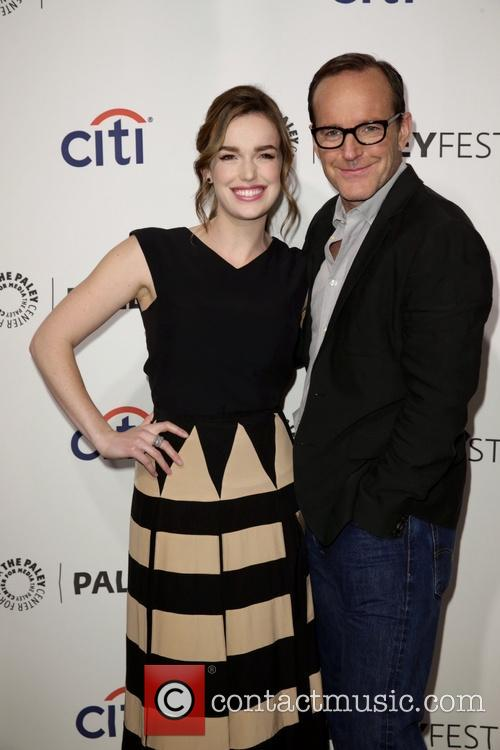 Elizabeth Henstridge and Clark Gregg 4