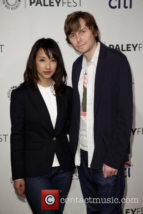 Maurissa Tancharoen and Jed Whedon 2
