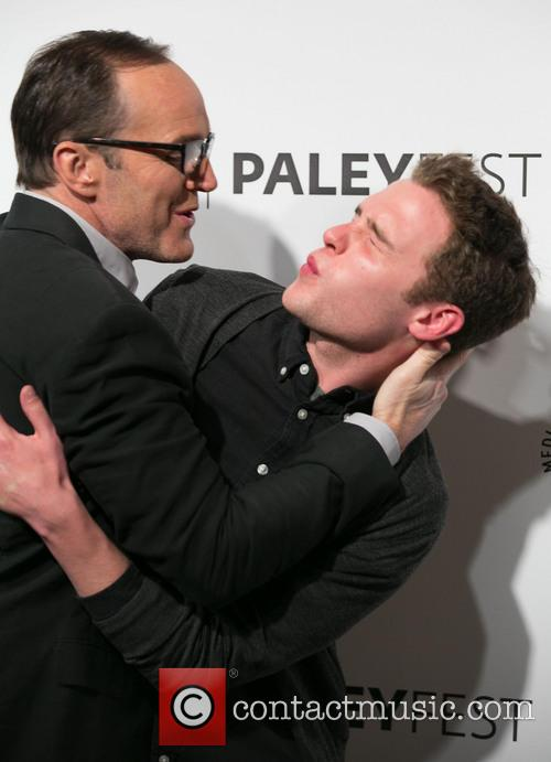 Clark Gregg and Iain De Caestecker 7