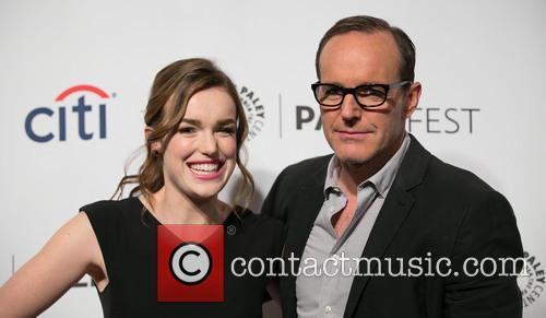 Elizabeth Henstridge and Clark Gregg 7