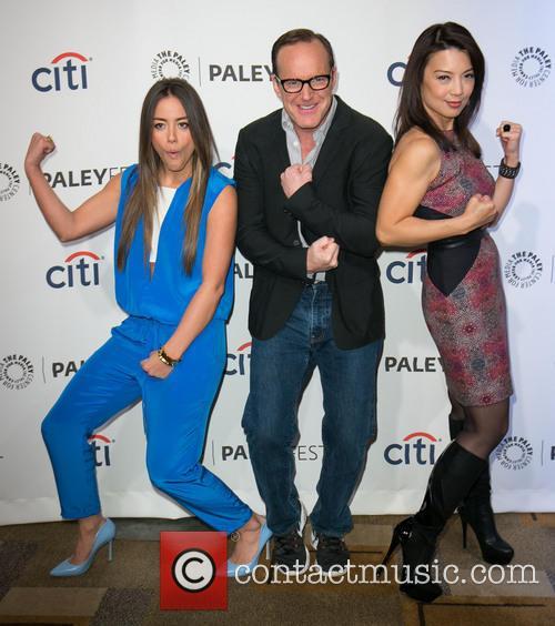 Chloe Bennet, Clark Gregg, Ming-Na Wen, The Dolby Theater