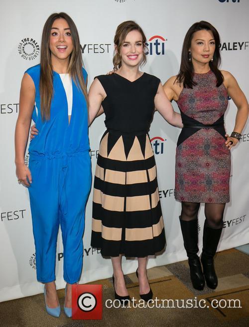 Chloe Bennet, Elizabeth Henstridge, Ming-Na Wen, The Dolby Theater