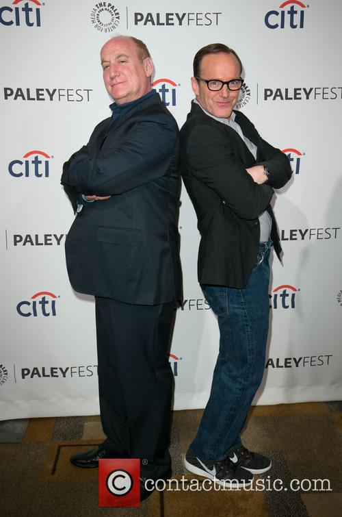 Jeph Loeb and Clark Gregg 7