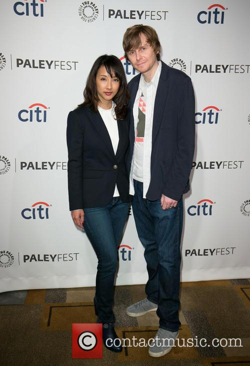 Maurissa Tancharoen and Jed Whedon 1
