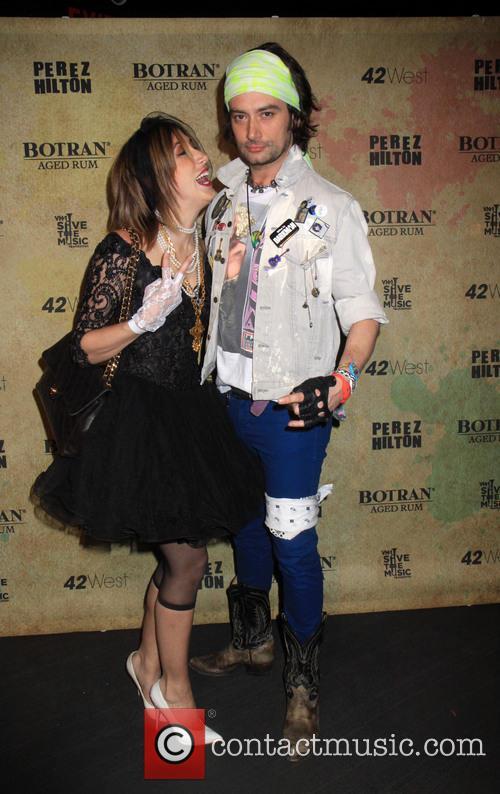 Perez Hilton hosts a Madonna themed birthday party