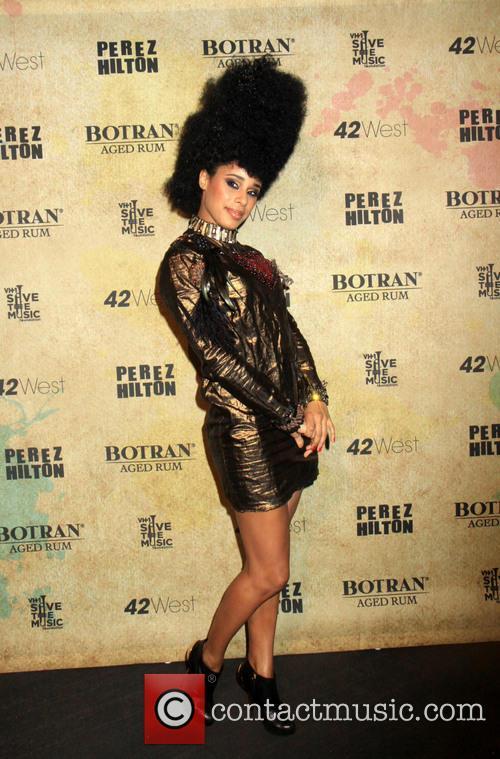 Perez Hilton, Fantine and Madonna 9