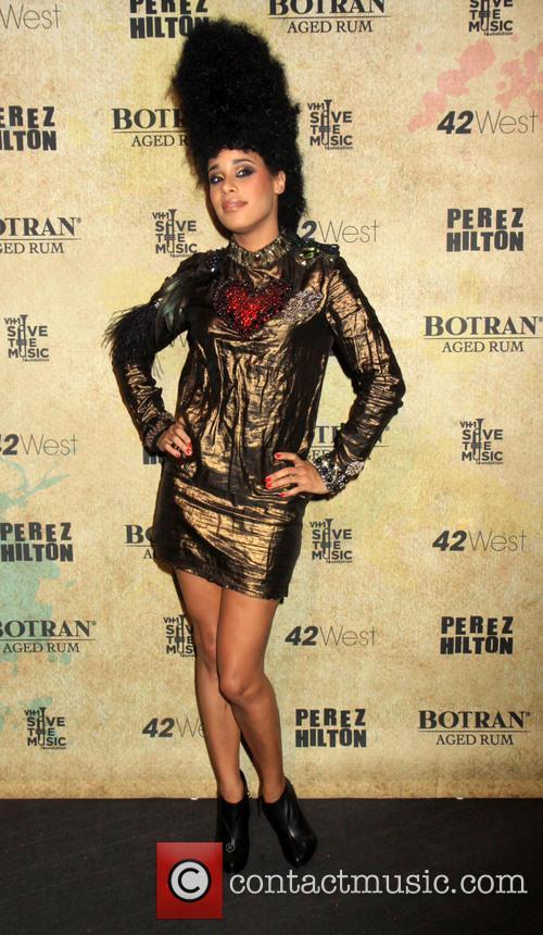 Perez Hilton, Fantine and Madonna 10