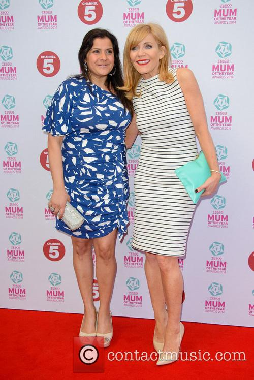 Nina Wadia and Michelle Collins 11