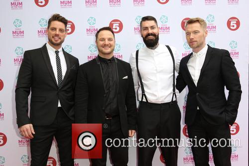 Keith Duffy, Mikey Graham, Shane Lynch, Ronan Keating and Boyzone 4