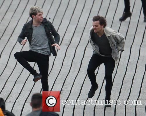 louis tomlinson niall horan 1d video shoot 4123846
