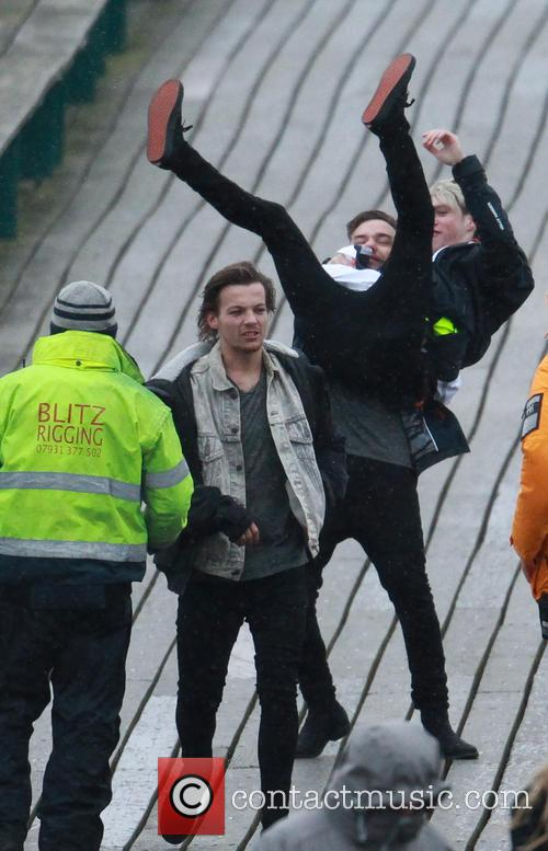 Liam Payne, Louis Tomlinson and Niall Horan 1