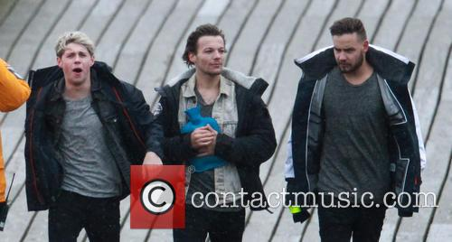 Liam Payne, Louis Tomlinson and Niall Horan 4