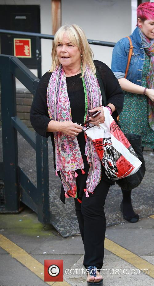 fern britton celebrities outside the itv studios 4123655