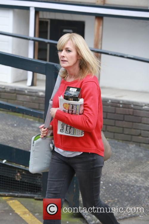 Celebrities outside the ITV studios