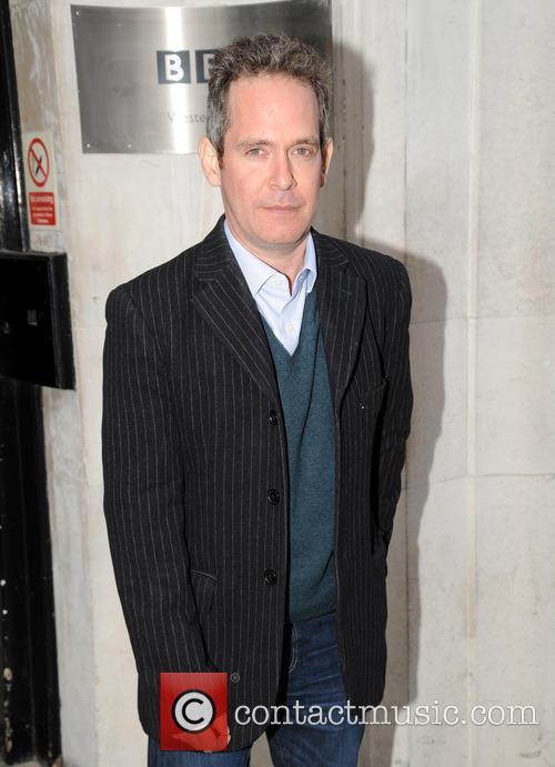 Tom Hollander pictured at Radio 2