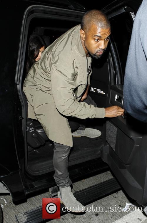 Kanye West and Kim Kardashian 4