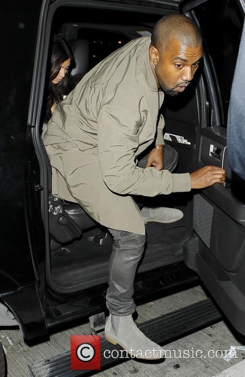 Kanye West and Kim Kardashian 1
