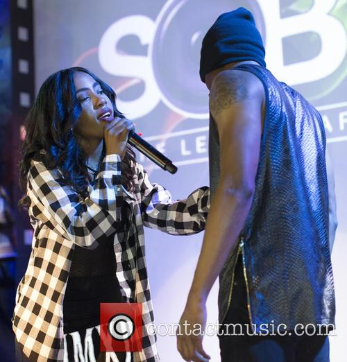 Sevyn Streeter performs live