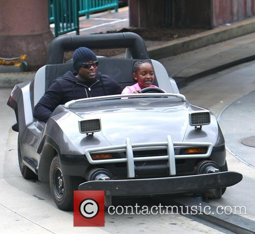 EXCLUSIVE 'Resurrection's Omar Epps spends quality time with...