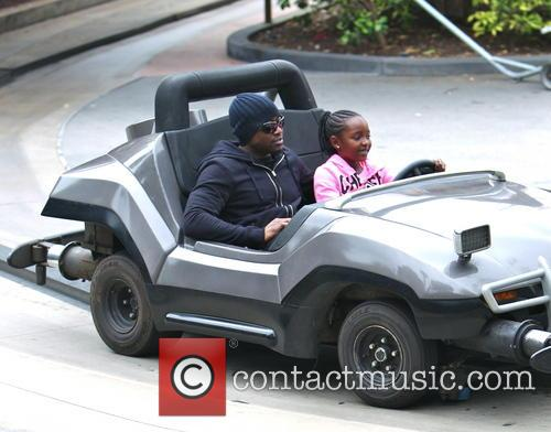 Omar Epps and K'mari Mae Epps