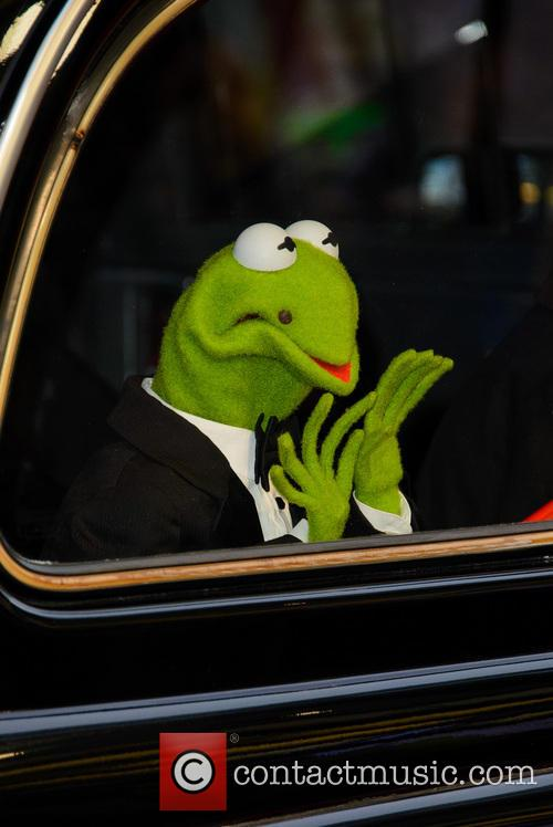 Kermit the Frog at 'Muppets Most Wanted' premiere