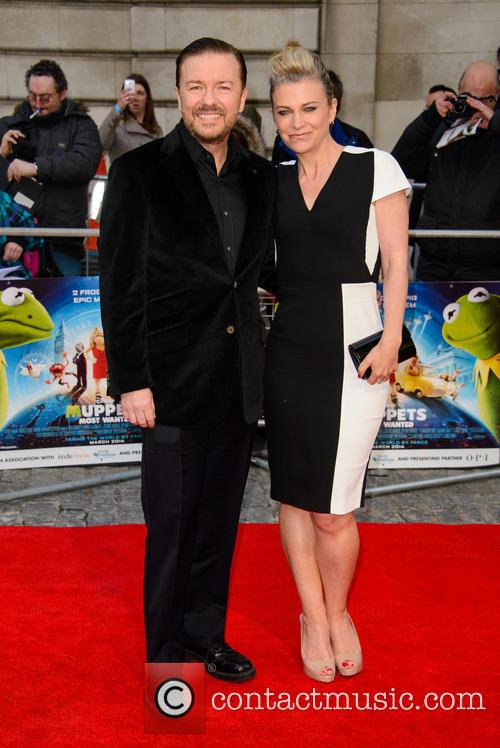 ricky gervais muppets most wanted screening 4123894
