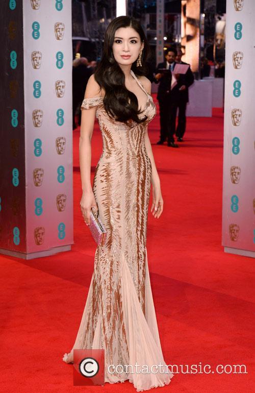 Rebecca Wang at the BAFTA Film Awards