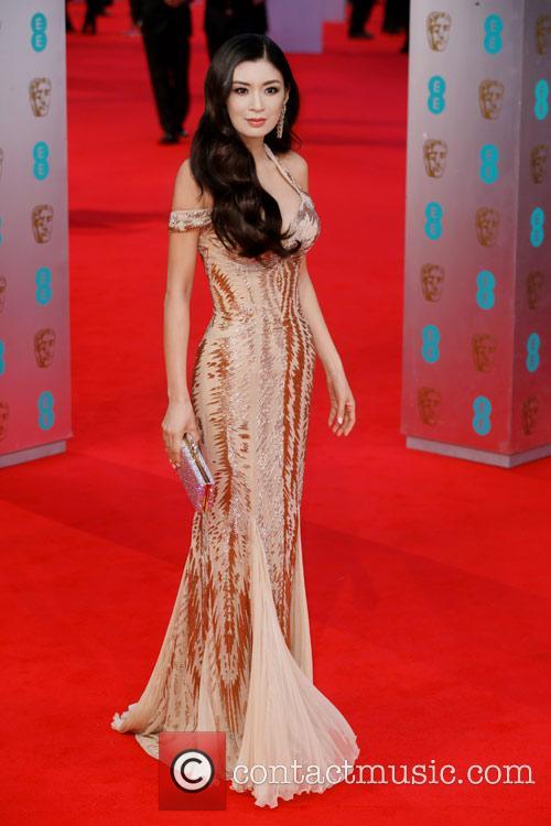 Rebecca Wang attends the BAFTA Film Awards