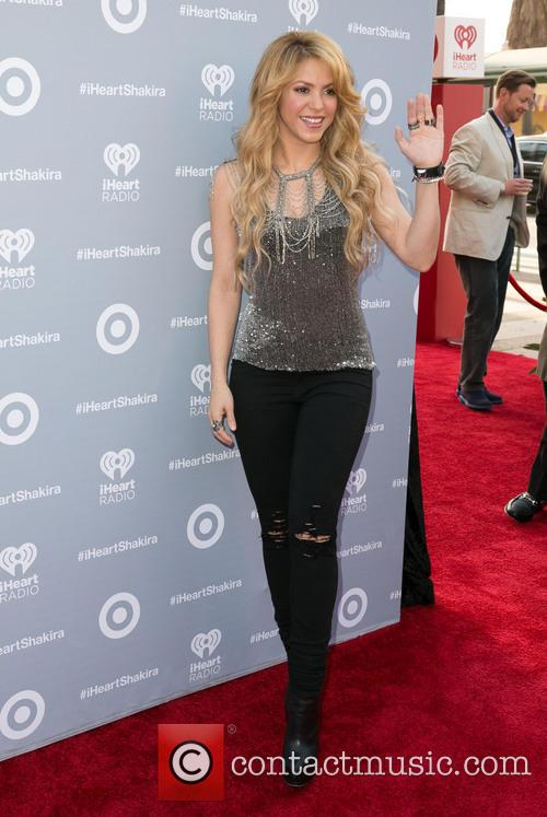 Shakira, iHeartRadio Theater in Burbank