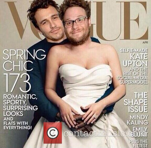James Franco and Seth Rogen once again poke...
