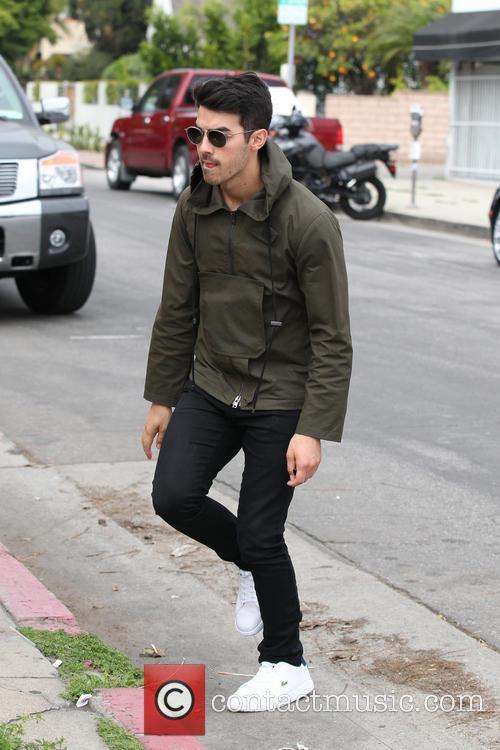 Joe Jonas and Blanda Eggenschwiler Lunch