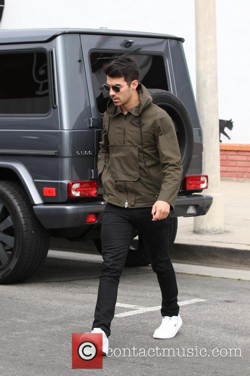 Joe Jonas and Blanda Eggenschwiler Lunch