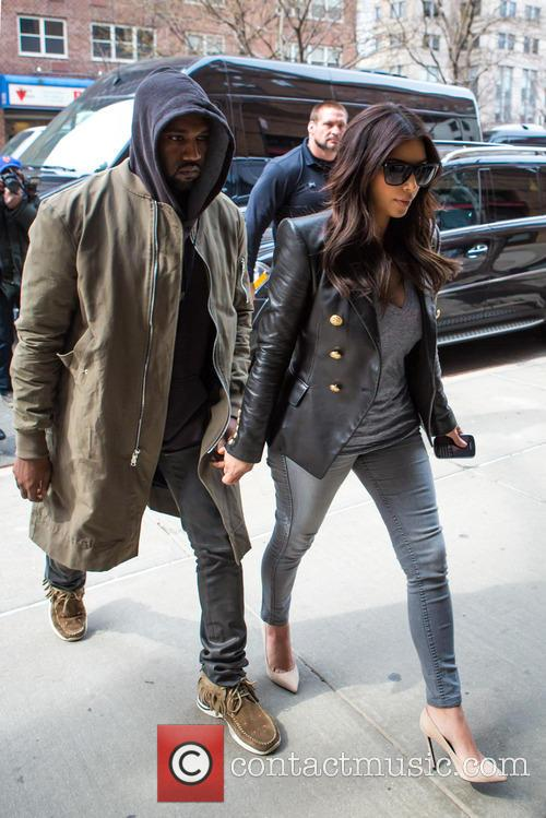 Kim Kardashian and Kanye West 4
