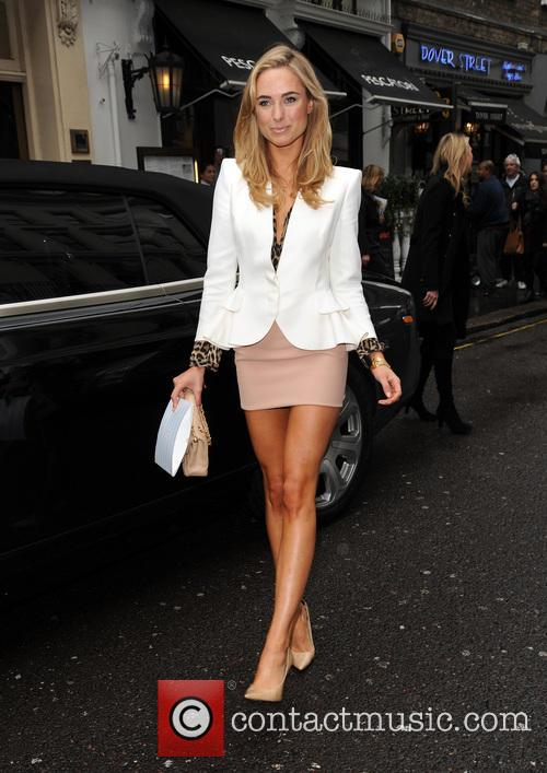 Kimberley Garner arrives at the Arts Club