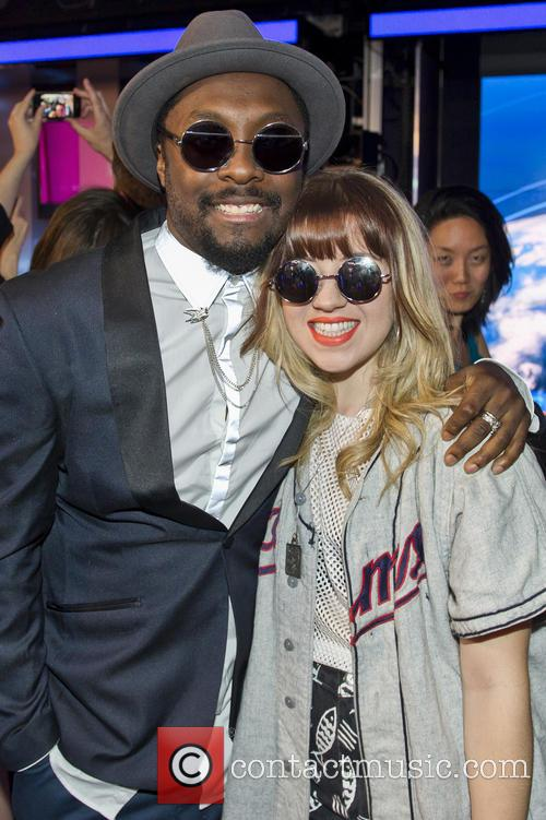 Will.i.am and Leah Mcfall 2