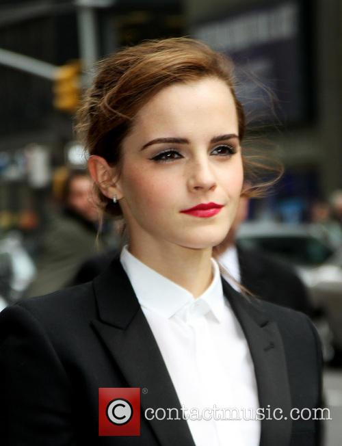 Emma Watson Late Show With David Letterman