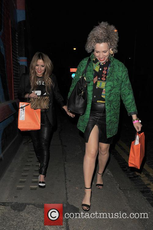 Celebrities leaving Shoreditch House
