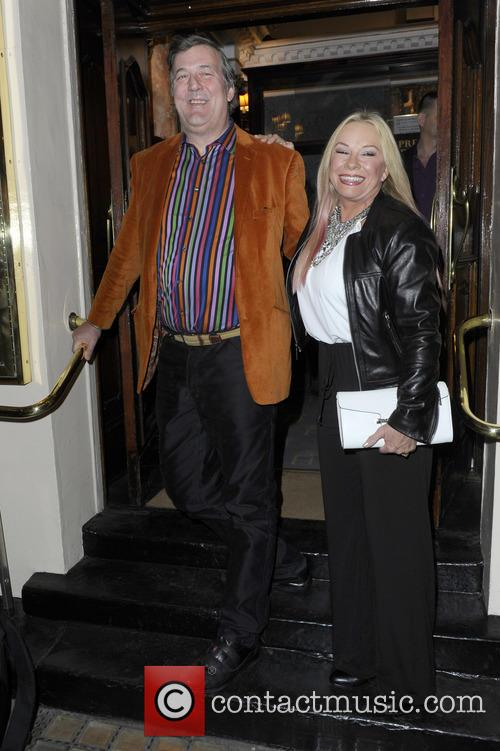 Stephen Fry and Pamela Stephenson 2