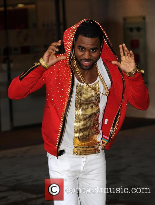 Jason Derulo pictured at BBC Radio 1