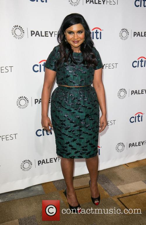 mindy kaling paleyfest 2014 the mindy project 4125734