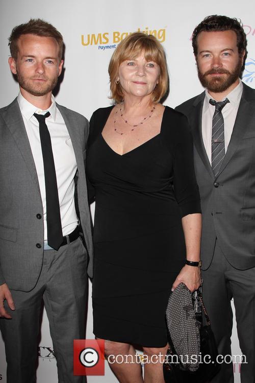 Chris Masterson, Carol Masterson and Danny Masterson