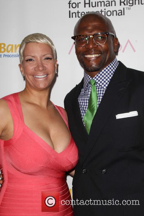 Rebecca Crews and Terry Crews 4