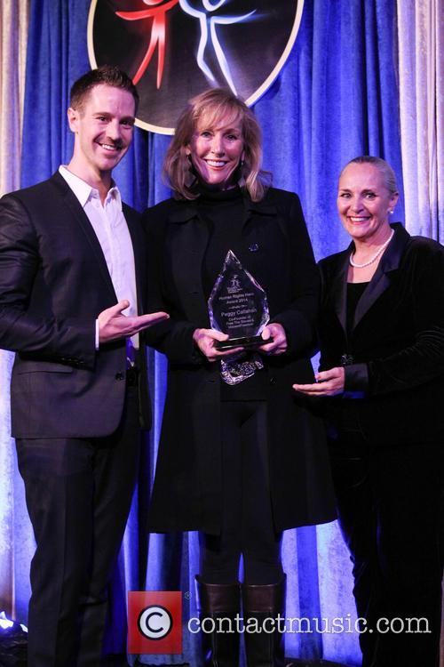 Jason Dohring, Peggy Callahan and Dr. Mary Shuttleworth 2