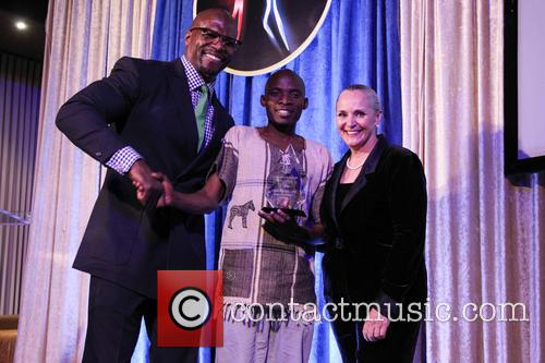 Terry Crews, Tonny Okello and Dr. Mary Shuttleworth 3