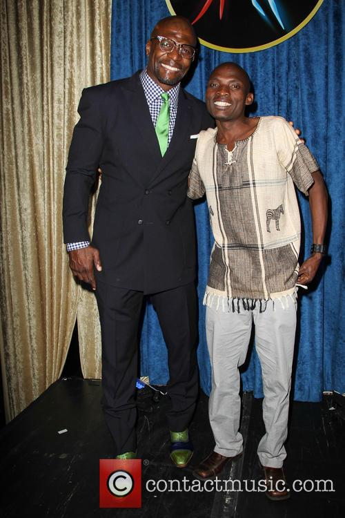 Terry Crews and Tonny Okello 8