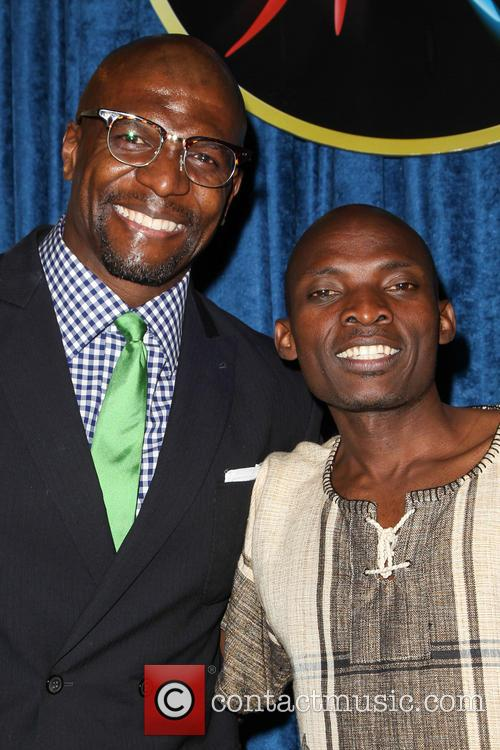 Terry Crews and Tonny Okello 9